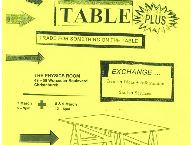 Eve Armstrong: Trading Table