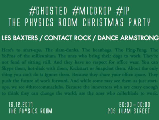 The Physics Room Christmas Party